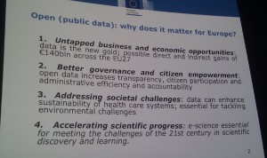 EU slide on case for open data